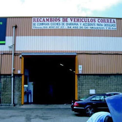 Desguace de coches en Vizcaya