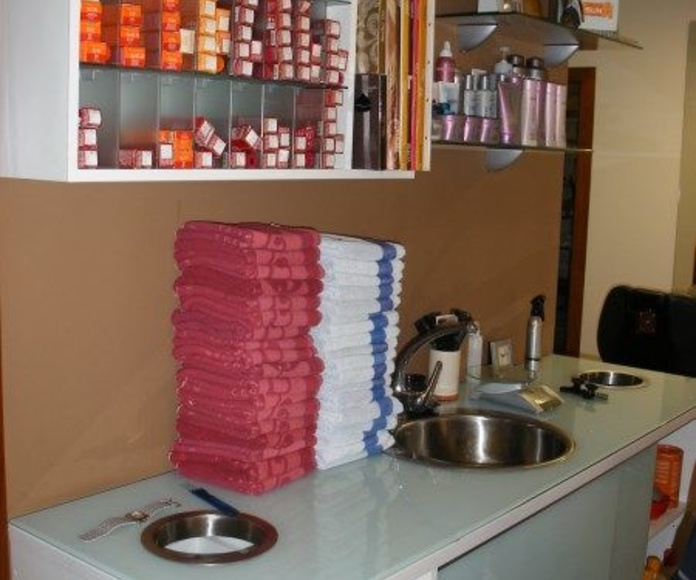 PELUQUERIAS Y CENTROS DE BELLEZA: Instalaciones de Europea de Estanterías