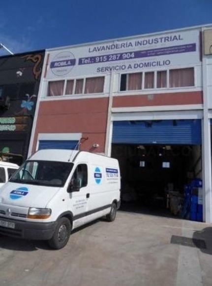 Servicio a domicilio: Servicio lavandería industrial de Lavandería Industrial Robila