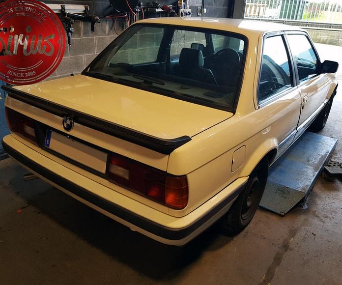 BMW E30 - Homologación