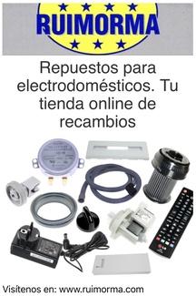 Ruimorma tiene Online de repuestos para electrodomésticos