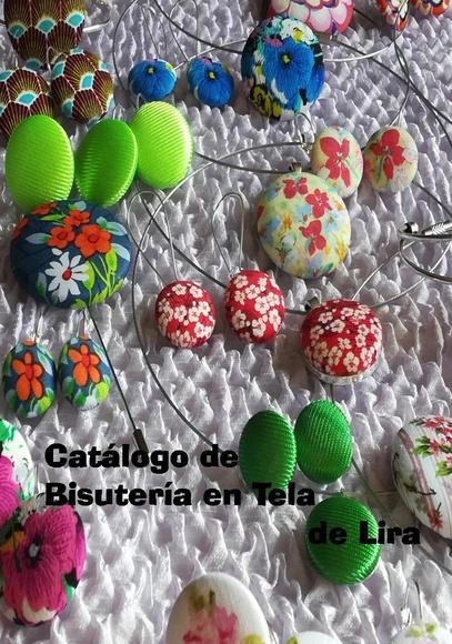 Portada del Catálogo de Primavera de Bisutería en Tela de Lira.