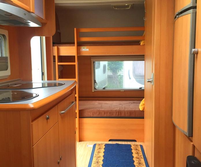 caravana tec tour live 415 aire y nevera 150 lts: Caravanas de ocasión de Caravanas Granollers