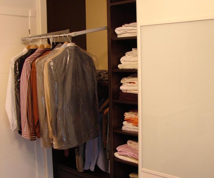 Barra extensible para ropa