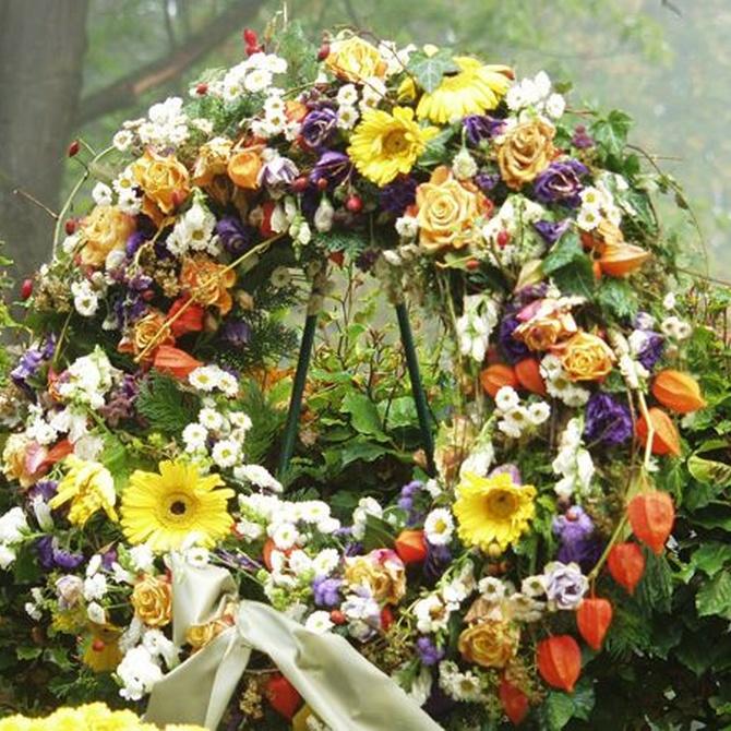 Flores más habituales para dar el pésame