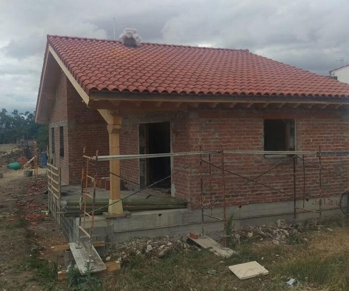 Fachadas y cubierta