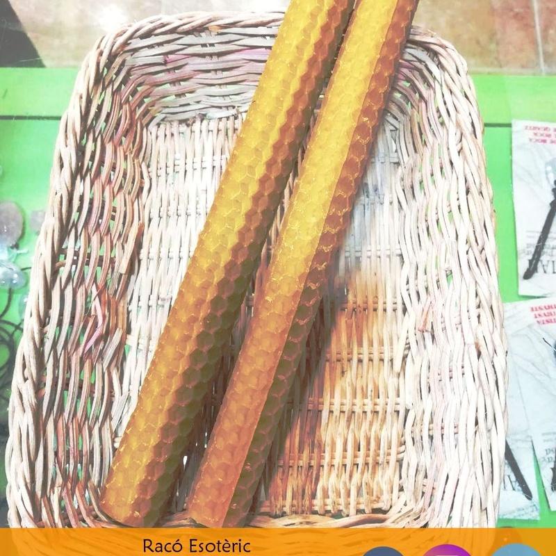 Velas de miel: Cursos y productos de Racó Esoteric Font de mi Salut