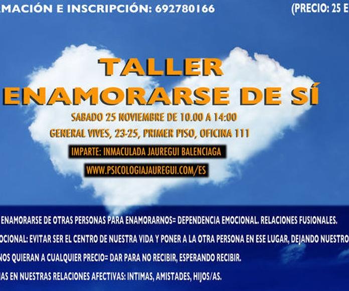 Taller: ENAMORARSE DE SÍ