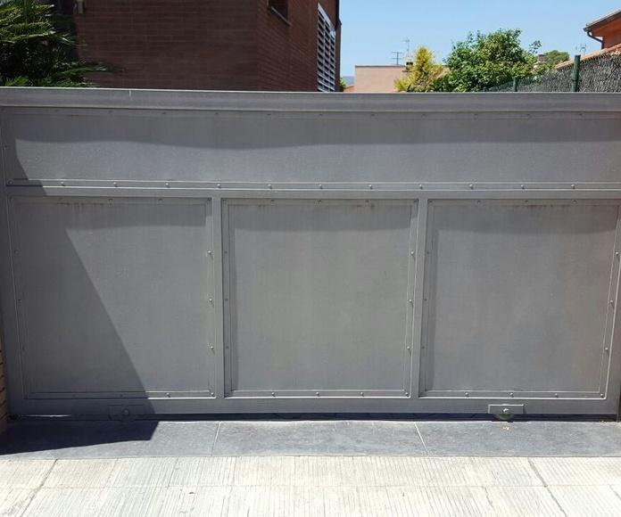 puerta  | Forja Perez