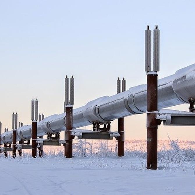 ¿De qué material están fabricadas las tuberías?