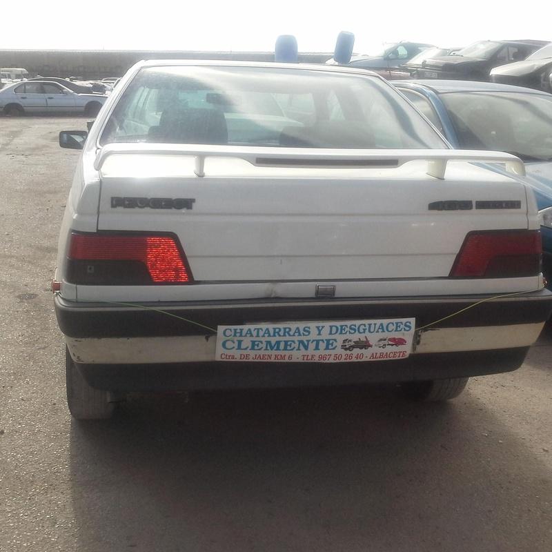 Peugeot 405 en desguaces Clemente de Albacete