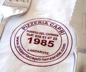 Restaurante italiano desde 1.985