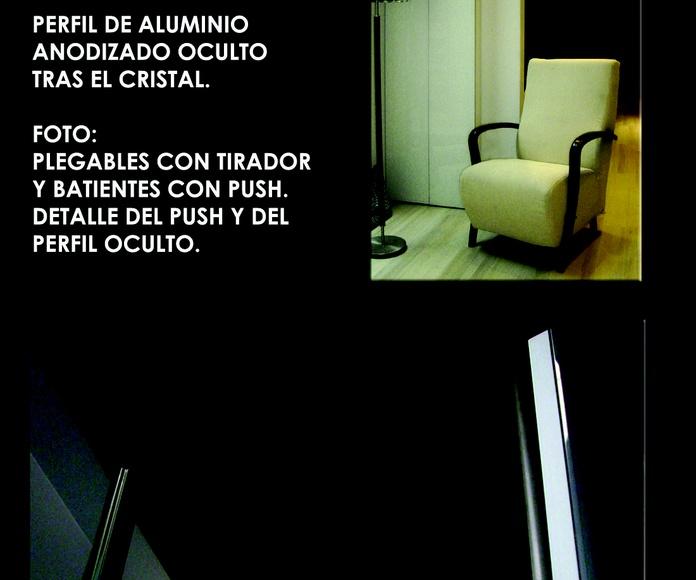 FRENTE BATIENTE Y PLEGABLE PERFIL OCULTO: CATALOGO  de Altxa