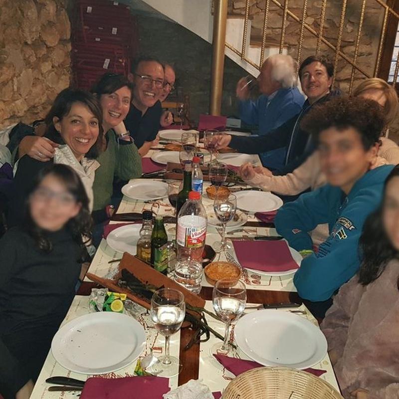 Menús para grupos: Nuestros platos de Asador Brasería Los Cazadores - Campo de tiro al plato de Sitges