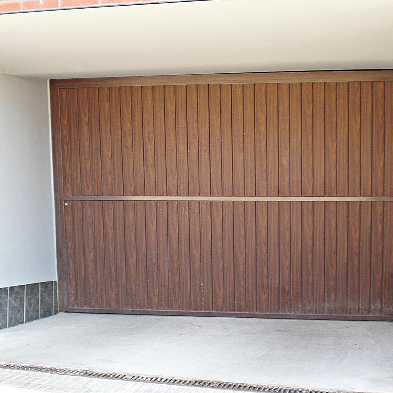 Puertas especiales: Productos y servicios de Aluminios Tascón