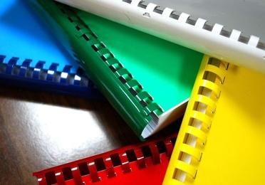 Encuadernaciones en canutillo (espiral de plástico)