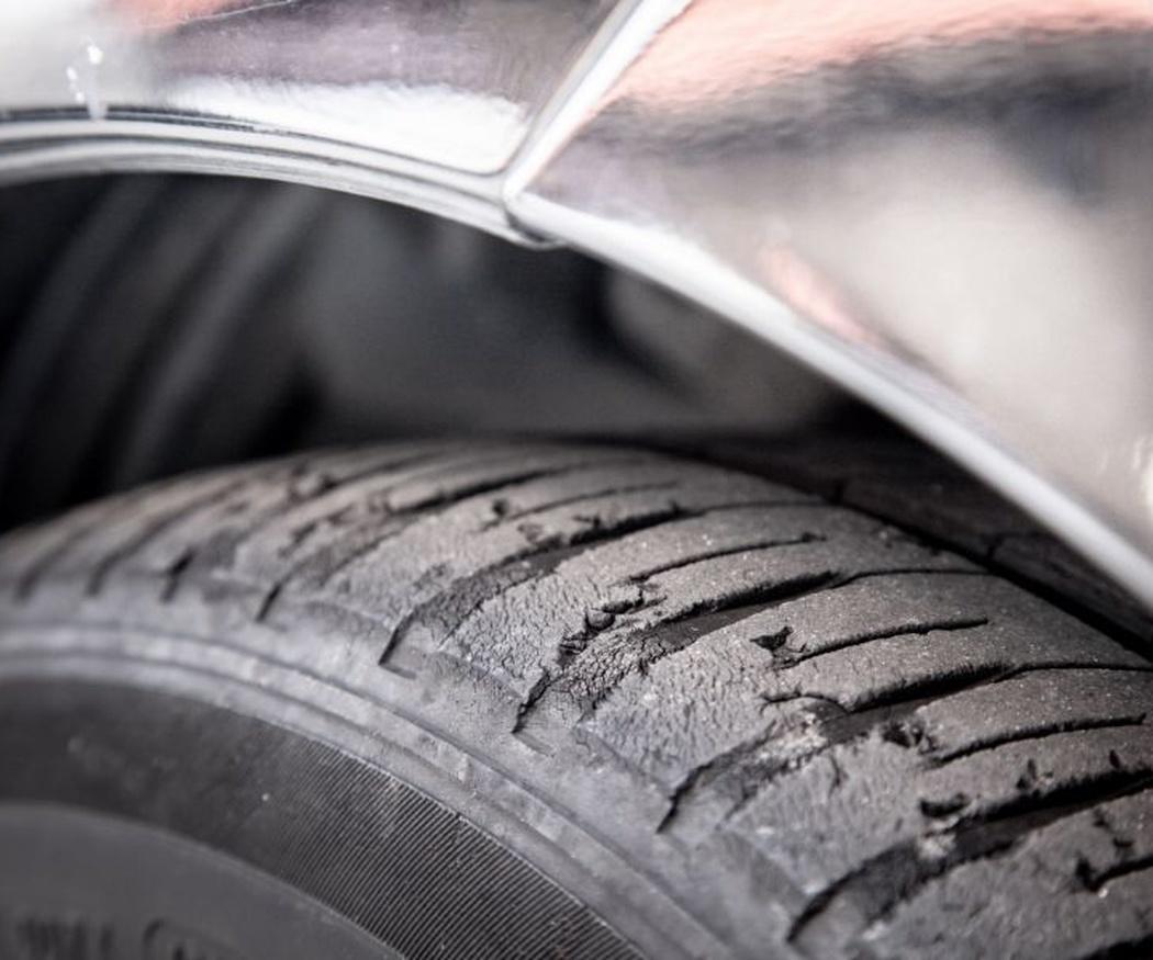 Tipos de desgaste en el neumático
