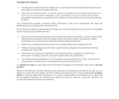 NUEVO SISTEMA DE GESTIÓN DEL IVA