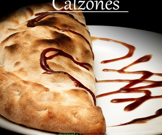 FINGUERS DE POLLO: Nuestras Pizzas de Pizzería Las Tres B