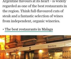 THE TELEGRAPH nos recomienda como uno de los mejores restaurantes de Málaga!!!!!!!