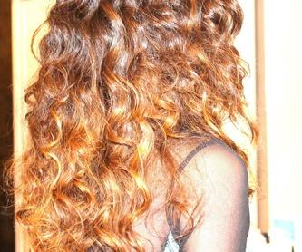 Depilación de cejas con hilo Sonia Atanes: Servicios de peluquería de Sonia Atanes