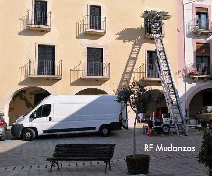 Vaciado de pisos : Productos  de RF Mudanzas
