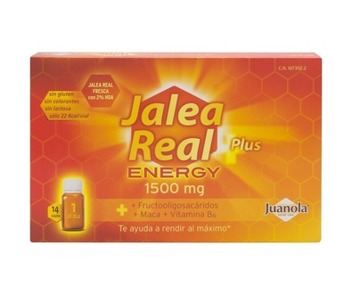 JALEA REAL PLUS ENERGY 1500 MG 28 VIALES