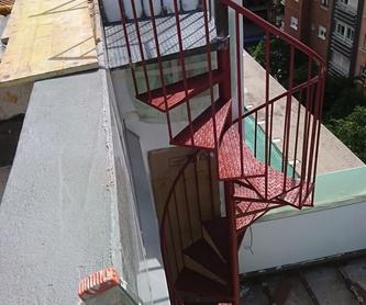 Puerta peatonal: Trabajos de Cerrajería Alberto Bautista