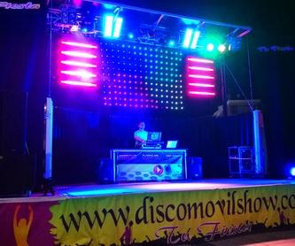 Equipos de sonido: Servicios de Disco Móvil Show