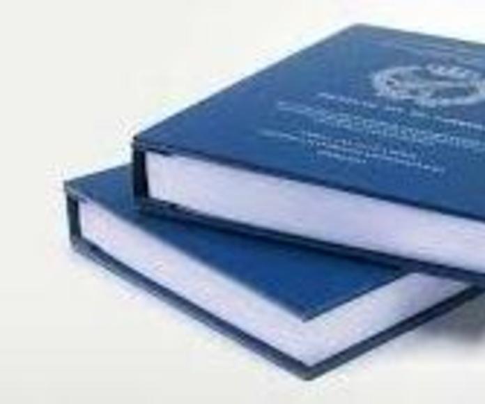Encarpetado y Encuadernacion.: Productos y servicios de Copias Pradillo