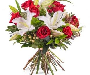 Ramos y centros de flor natural