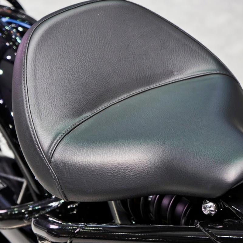 Tapizado de asiento de moto