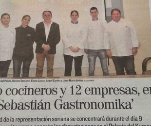 Los jóvenes de Soria piden paso en Gastronomika