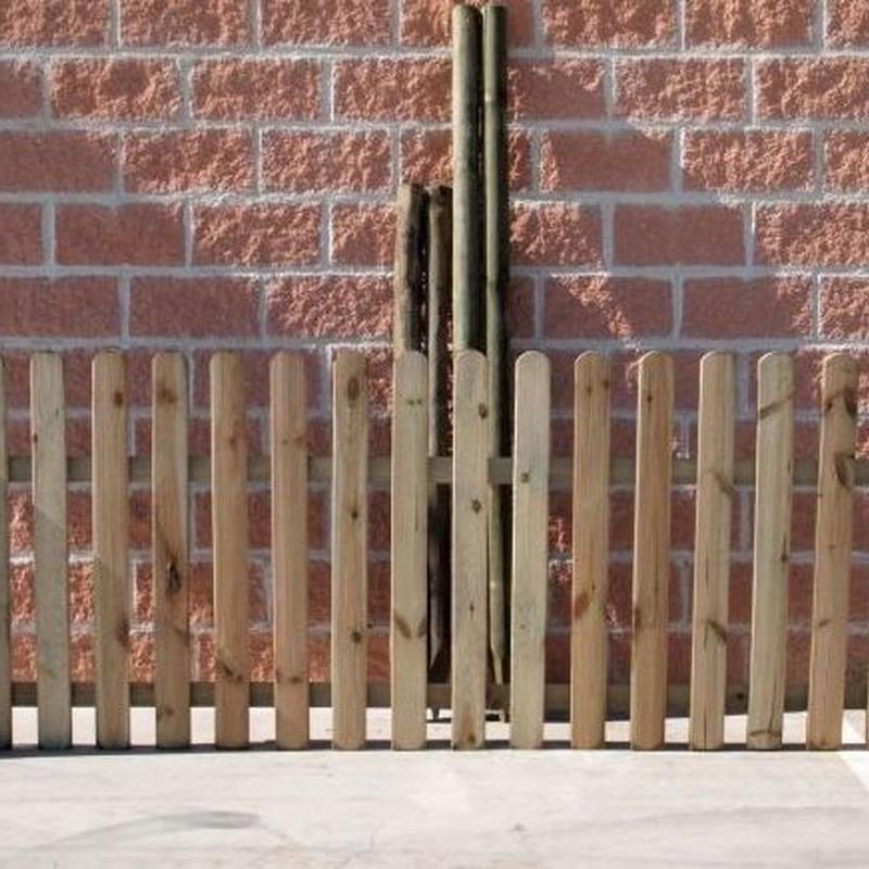 Postes y vallado de madera: Productos de Ferretería Baudilio