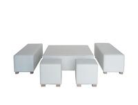 Mesa Chill Out: Alquiler de mobiliario de Stuhl Ibérica Alquiler de Mobiliario