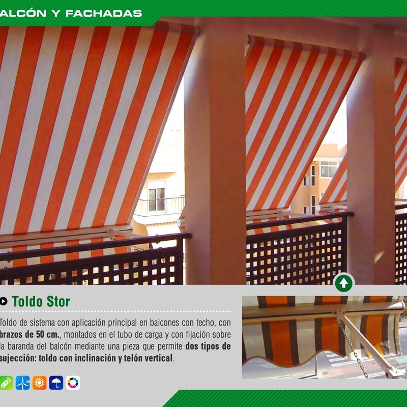 STOR DE BALCON: Productos y servicios de Mk Toldos