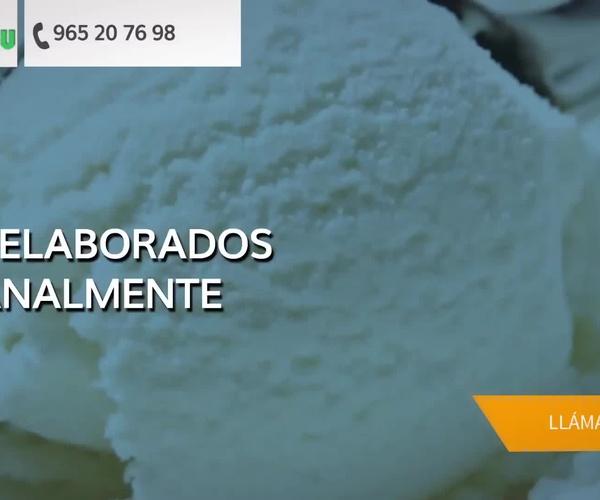 Helados artesanos en Alicante | Helados Verdú