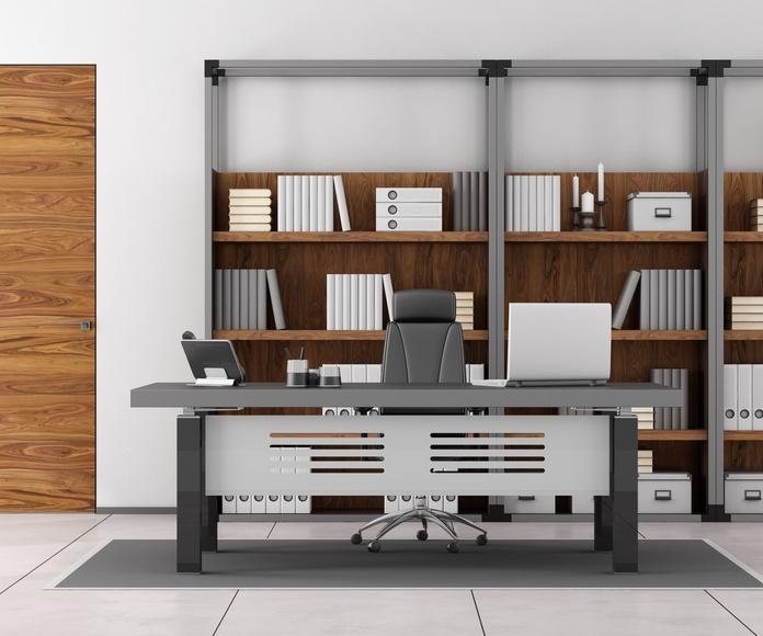 Estanterías metálicas para oficinas: Nuestros productos y servicios de Montajes Prigor