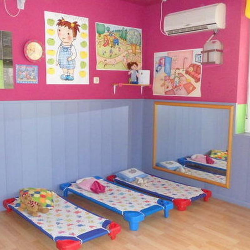 Área de descanso: Servicios de ESCUELA INFANTIL PEQUE-SOL, S.L.