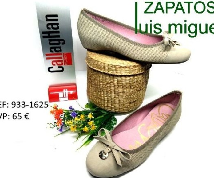 manoletina de callaghan: Catalogo de productos de Zapatos Luis Miguel