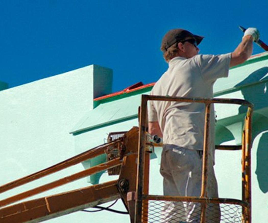 Protege tu fachada con un buen revestimiento de pintura