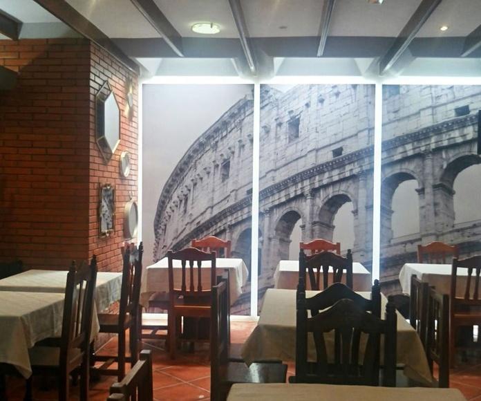 """Actualización comedor """"Restaurante Pizzería Da Canio II"""""""
