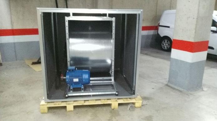Instalaciones de extractores de humos en restaurantes