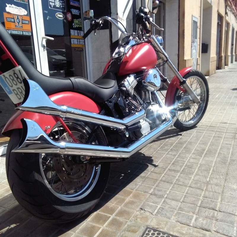 Harley Davidson en Valencia, customizacion motos en Valencia, personalización motos