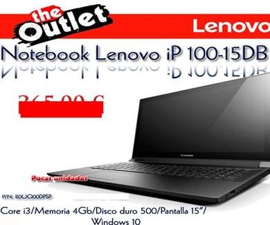 Outlet Lenovo desde el 17 de junio de 2016