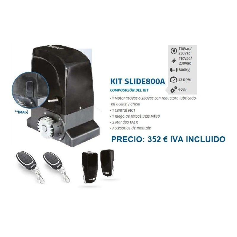 Kit Slide800A: Servicios de Puertas automáticas Odiel