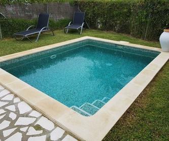 Construcción de piscina en la zona del Montgó, Jávea.: Servicos de Aiguanet Garden & Pool
