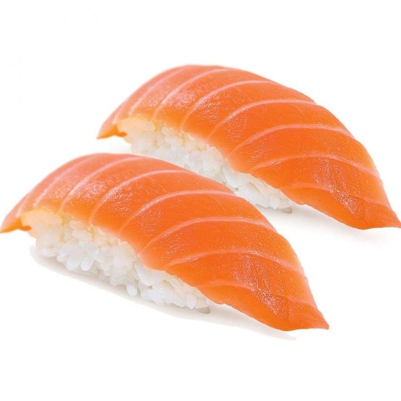 NIgiri de salmón: Carta de Sushi Time Buffet Libre