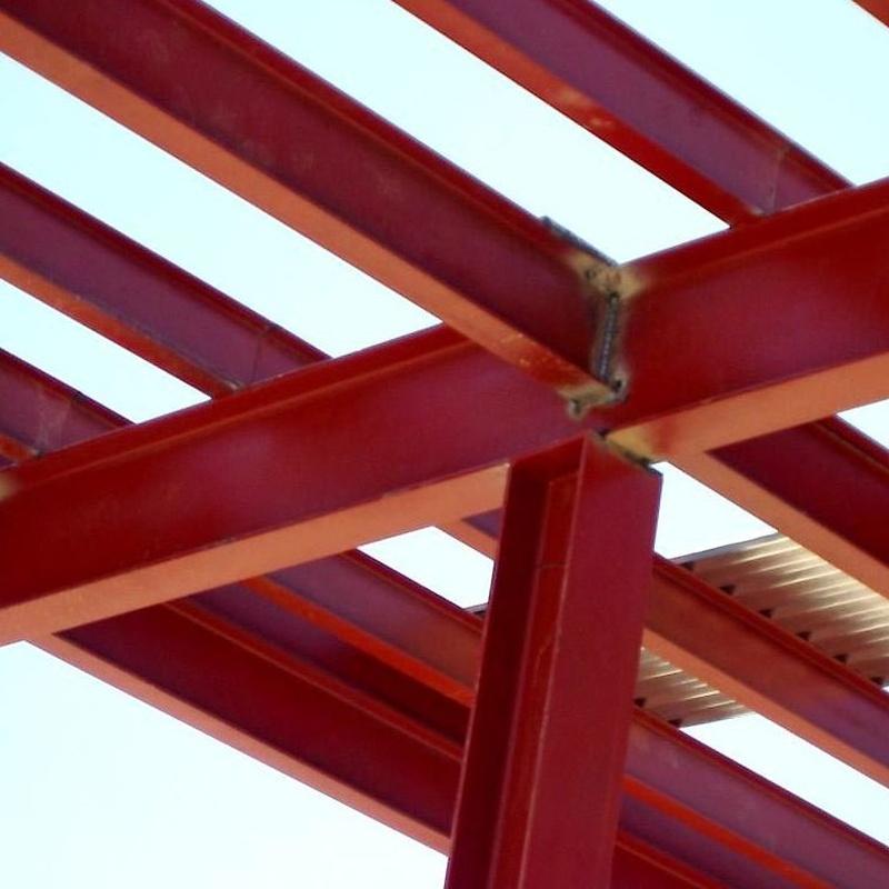 Estructuras metálicas en Pontevedra