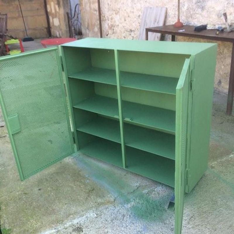 Muebles de forja: Catálogo de Antonio Serón Blasco